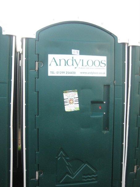 Glastonbury toilets