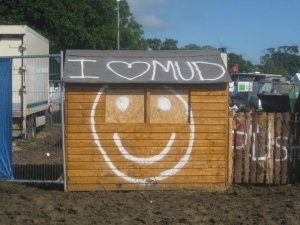 I love mud
